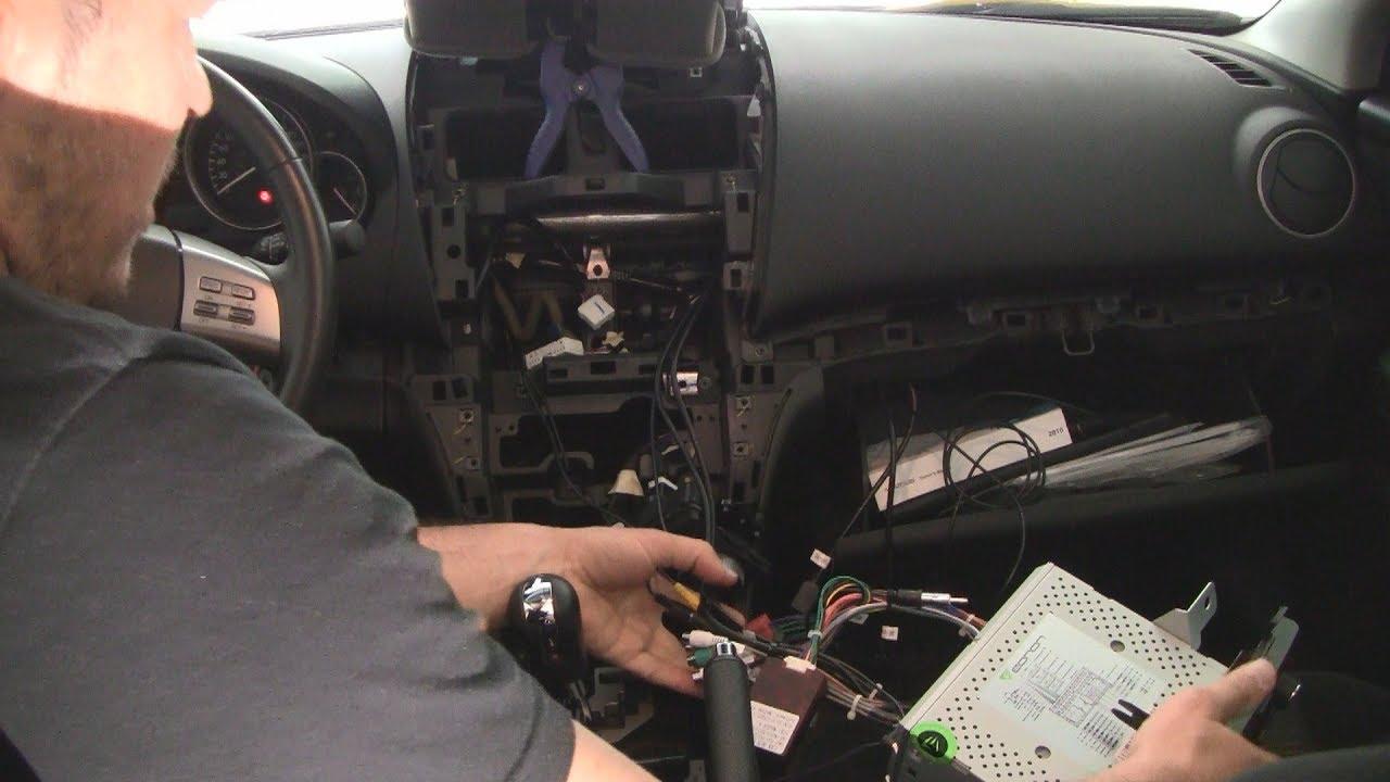 Eonon Android + front view + rec cam installation 2009-2013 Mazda 6
