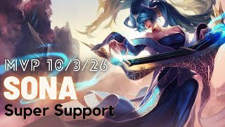 Ranked Sona Gameplay EXTREME SUPPORT!! - League of Legends Wild Rift