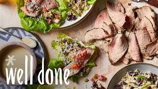 How to Make Southwestern Pork Lettuce Wraps | Recipe | Well Done
