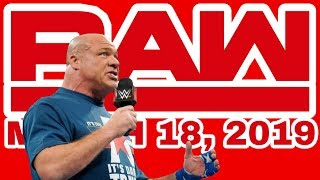 🔴 WWE RAW Live Stream March 18th 2019 - Full Show Live Reactions