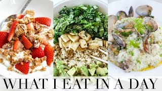 WHAT I EAT IN A DAY! | Getting Fit for Summer