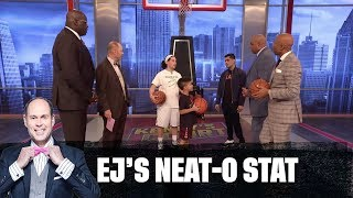 Download The Guys Are Challenged to a 3-Point Contest | EJ's Neat-O Stat Mp3 and Videos