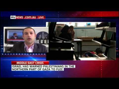 Gabriel Sassoon on Sky News - UN urges ceasefire in Gaza Strip