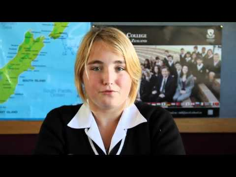 Mara from Germany talks about studying at Avondale College, NZ