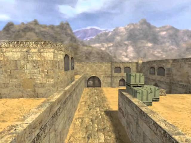 Counter-Strike 1.6 Map De_dust