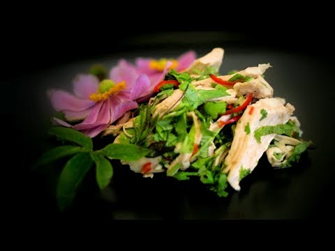 Chinese Spicy Lime Chicken Salad (Chinese Style Cooking Recipe)