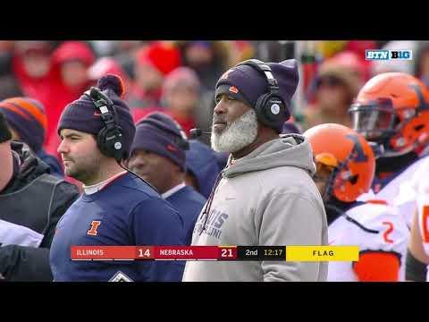 Nebraska vs Illinois 2018 In 40 Minutes (Full Game)