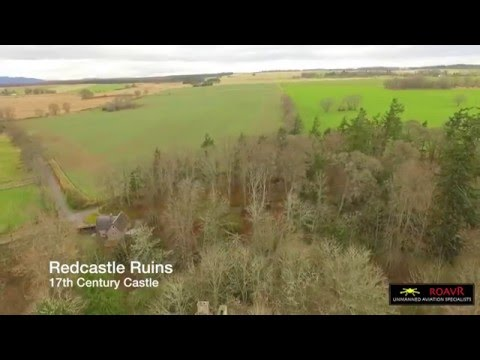 Red castle Ruins - Beauly Firth