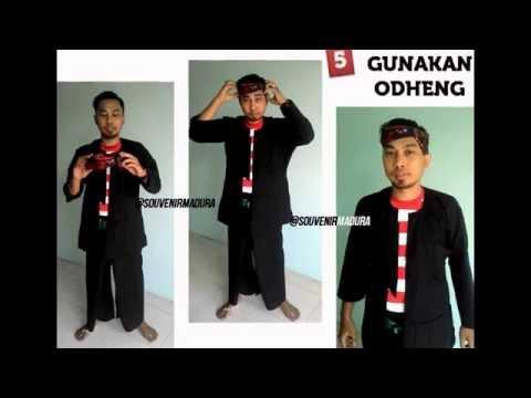 Tutorial Cara Pakai Baju Adat khas Madura Jawa Timur | 0856-5535-5431 | Jual Baju Madura Murah