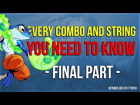 Brawlhalla - Every Combo And String You Need To Know - Final Part