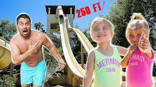 Braving The Worlds Biggest Waterslide!