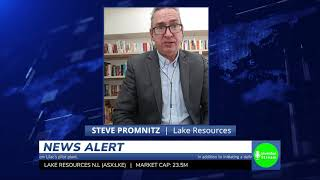 Investor Stream chats with: Lake Resources Managing Director Steve Promnitz (August 26, 2020)