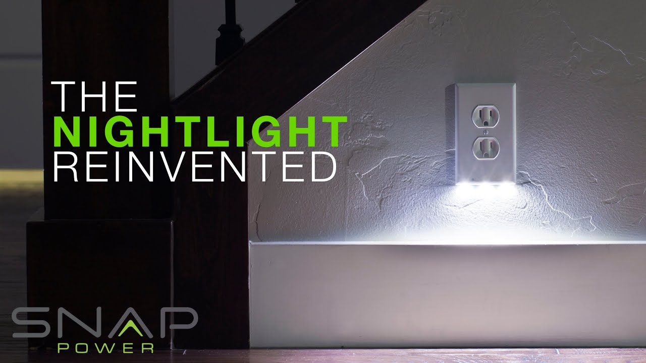 Snappower guidelight the nightlight reinvented youtube aloadofball Images