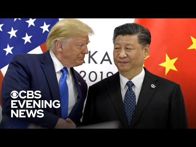 Trump talks trade agreement with China at G20 summit