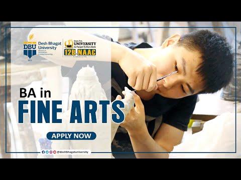 Bachelor in Fine Arts (BFA)