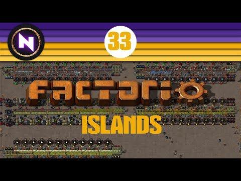 Factorio Islands - E33 - Finally fixing Green Circuits - Youki Industries