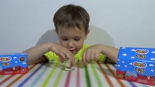 Озмо яйца сюрприз с игрушками машинками и животыми OZMO surprise eggs with toys unboxing