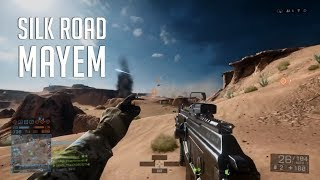 Tank and infantry battle Battlefield 4