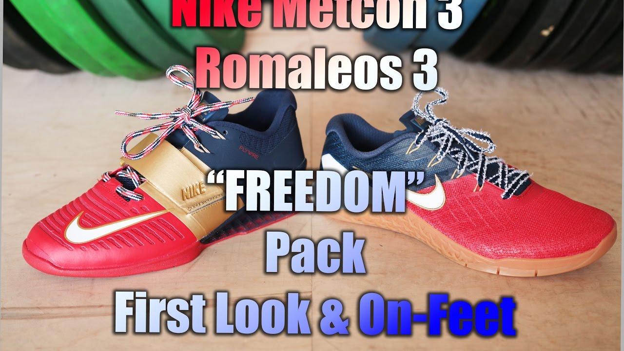 Nike Metcon 3 Romaleos De 3 Libertad Pack De Romaleos Pies!Youtube c4bdac