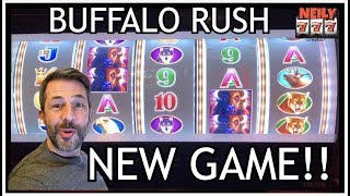 LET'S PLAY A BRAND NEW SLOT MACHINE ✦ BUFFALO RUSH ✦ CASH ME OUT!