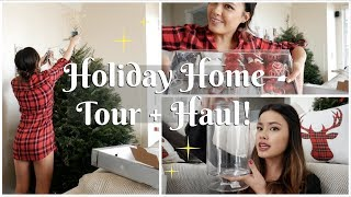 My Holiday Home Tour | Home Goods Haul + Lush Organization