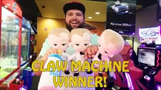 Boss Baby in the Claw Machine
