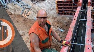 Строительство дома: Заливка фундамента в Опалубку PERI - JURMALA RESIDENCE - #7 Латвия(, 2015-11-14T07:13:39.000Z)