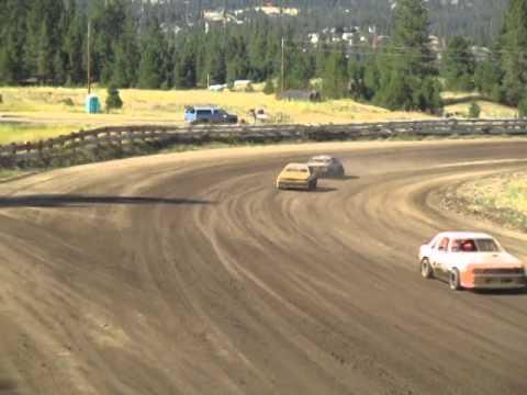 Eagle Track Raceway Fever 4 Heat Race Part 3 Aug 23rd 2014