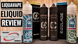 Liquavape Eliquid Review - Coilade/Slushie