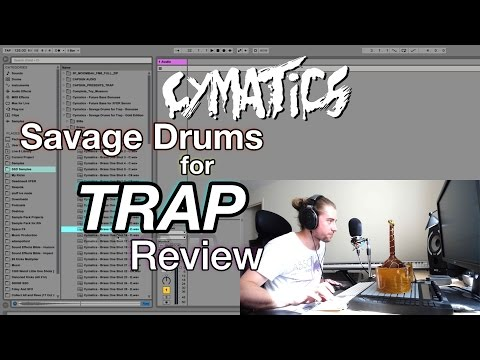 Cymatics Savage Drums for Trap Review (+ 40 free samples!)