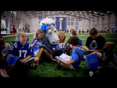Olivet Nazarene University & Indianapolis Colts Mascot Blue