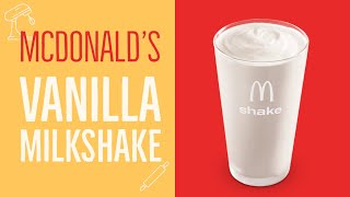 McDonalds Vanilla Milkshake