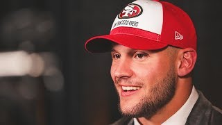 Nick Bosa: Coming to the 49ers 'Means Everything'