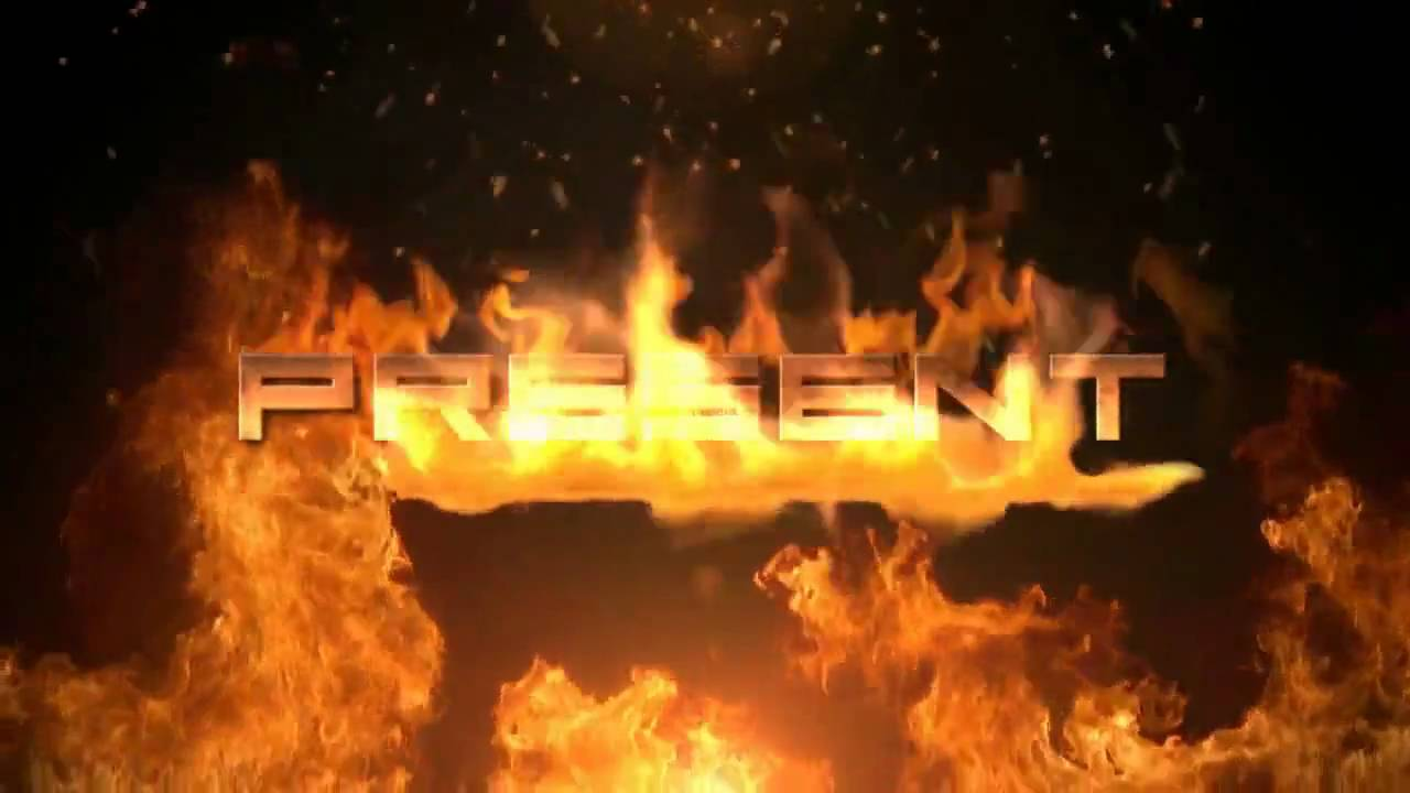 free after effects template fire youtube