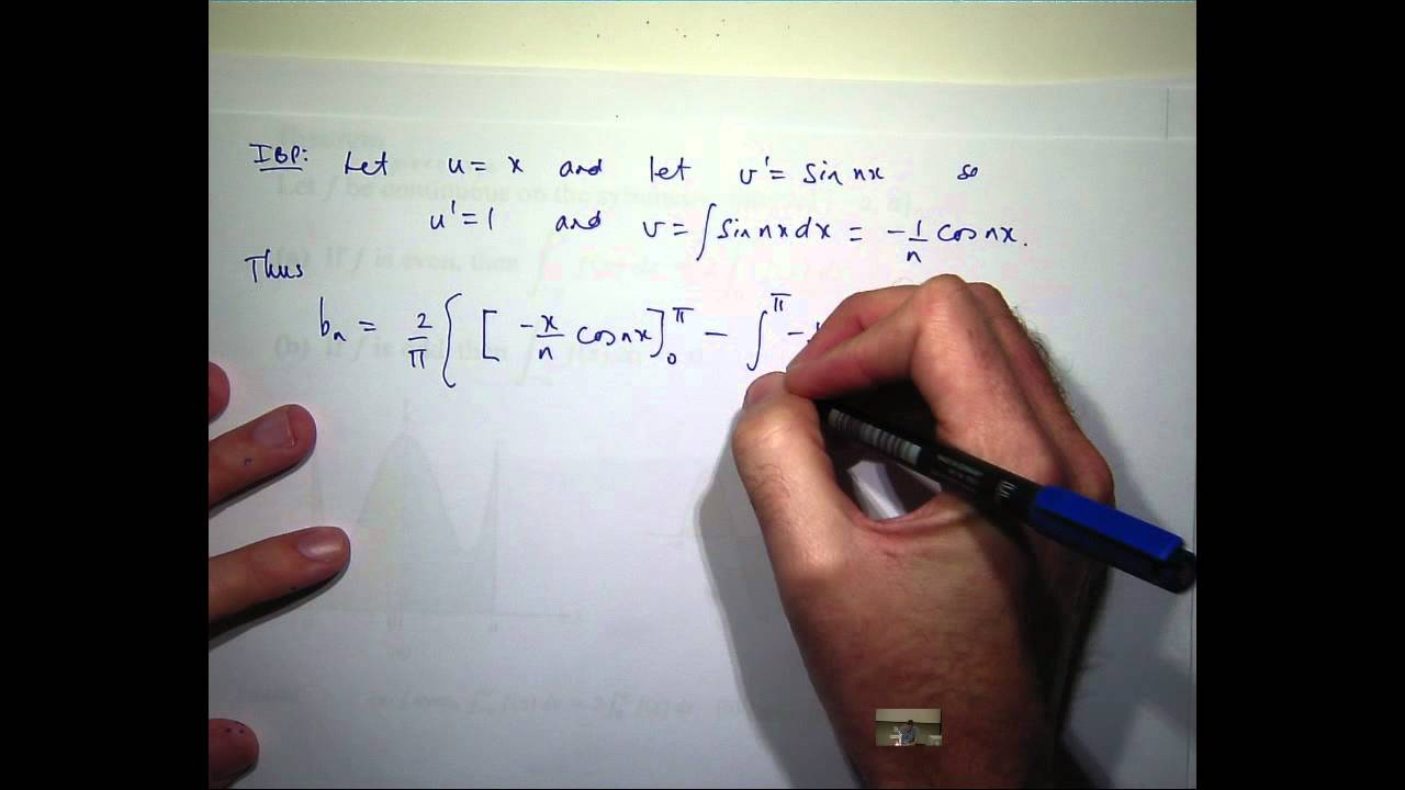 Fourier Series (solutions, examples, videos) on