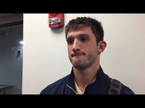 Football | Nathan Peterman Postgame vs. Iowa