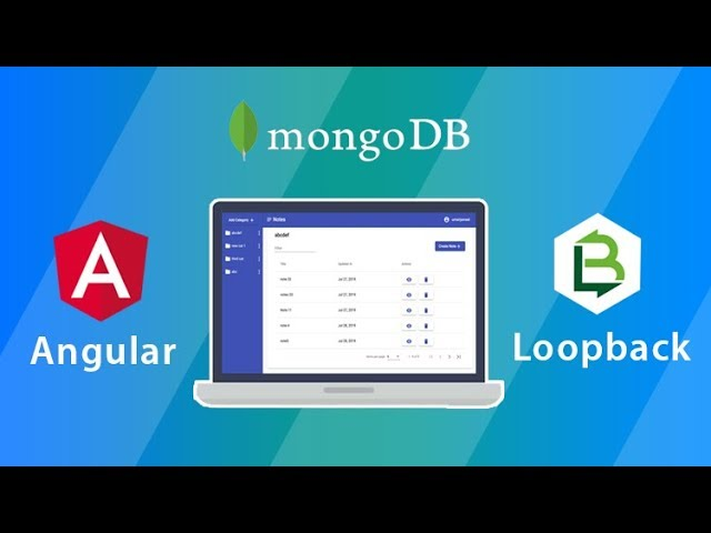 Loopback and Angular - Build a complete website from scratch