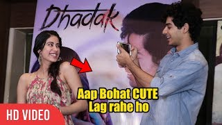 FUN Chit Chat with Janhvi Kapoor, Ishaan Khatter | Dhadak Special | Criticism from Sairat Fan's