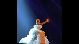 Celine Dion - My Heart Will Go On Live in Courage Tour (Drone Effect)