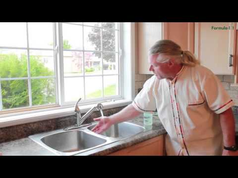 Using a surfactant to clean a Stainless Steel sink properly
