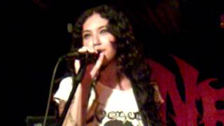Nervosa - You Suffer (Napalm Death Cover) Live in Santo André-06-04-2012