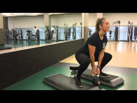 How to Kettlebell Sumo Squat