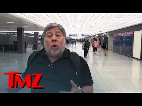 Steve Wozniak  I'm Ditching My Android Phones! iPhone 6 Is THAT Good  TMZ