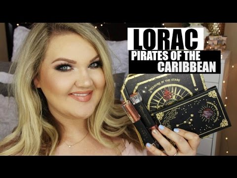 LORAC PIRATES OF THE CARIBBEAN COLLECTION | REVIEW + GRWM