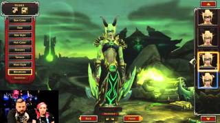 Blood Elf Female | Demon Hunter Customization | Legion Pre-Beta