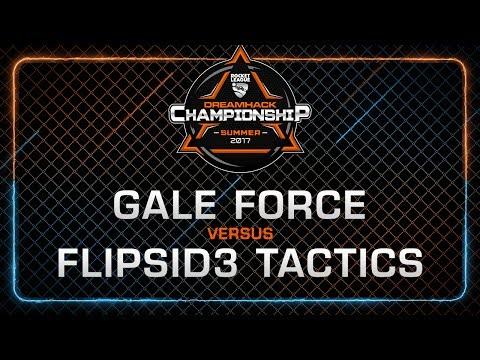Gale Force vs Flipsid3 Tactics - Grand-final - Rocket League Championship - DreamHack Summer 2017