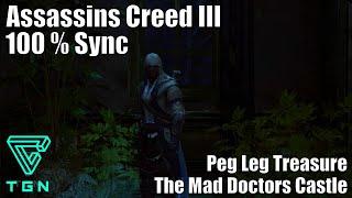 The Mad Doctors Castle : Peg Leg - Captain Kidd