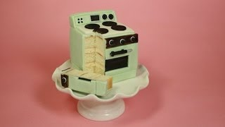 Easy Bake Oven Mini Cake- (how-to)