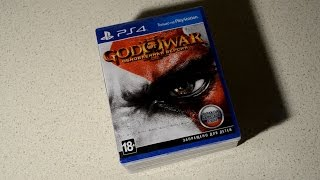 god Of War 3 Remastered Распаковка - Кратос вернулся на Playstation 4