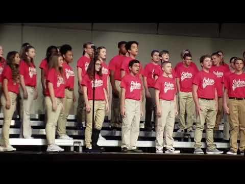 Lukas Fishers High school choir 10 12 17